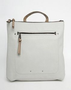 Search for backpack at ASOS. Shop from over styles, including backpack. Discover the latest women's and men's fashion online Spring Summer Trends, Spring Summer Fashion, Shoulder Strap Bag, Fiorelli, Rucksack Bag, Zipper Bags, Hermes Kelly, Asos, Fashion Online
