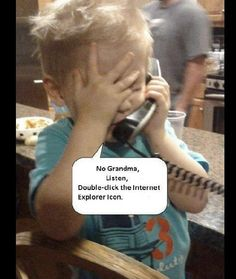 This is my granddaughter! Ha!