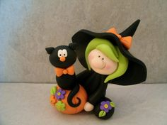 Hey, I found this really awesome Etsy listing at https://www.etsy.com/listing/199429924/halloween-witch-black-cat-pumpkin