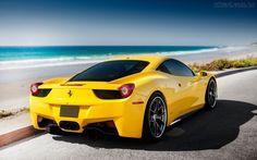 Papel de Parede - Carro de Luxo - Ferrari 458