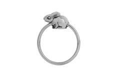 Silver Riverine Rabbit slider ring (Sizing adjustments are charged for separately on all sale items. Sale Items, Sliders, Conservation, Purpose, Rabbit, Jewels, Rings, Jewelery, Rabbits