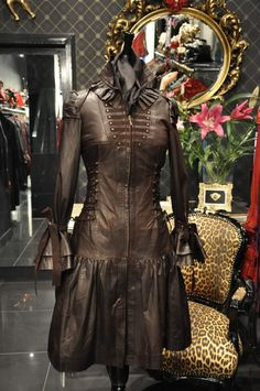 STEAMPUNK COUTURE, the kind of name you have to say with a whip crack at the end!