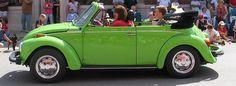 Green VW Bug