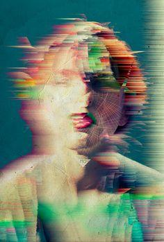 Distorsion identitaire , une manière de représenter la perte d'identité d'un être.