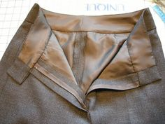 Completed waistband by sewingkay, via Flickr