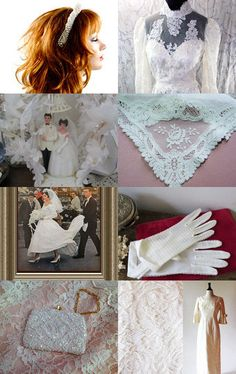 The vintage June bride an epsteam treasury by betsy durham on Etsy--Pinned with TreasuryPin.com