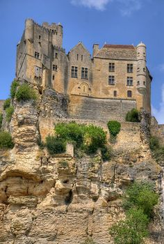 Chateau de Beynac France.... #Relax more with healing sounds: