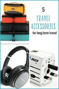 Planning a trip? Here are 5 handy travel accessories that will improve your long-term travel experience Planning a trip? Here are 5 handy travel accessories that will improve your long-term travel experience. Packing List For Travel, Packing Tips, Travel Tips, Travel Hacks, Travel With Kids, Family Travel, Travel Gadgets, Travel Information, Travel Essentials