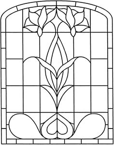 Free printable art deco and art nouveau patterns for Decorative window film stained glass victorian