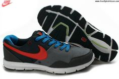 Low Price Mens Nike Lunarfly Black Gray Red Shoes The Most Flexible Running Shoes