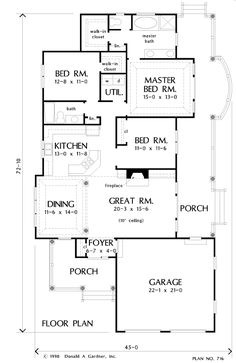Compare Other House Plans To House Plan The Park Ridge