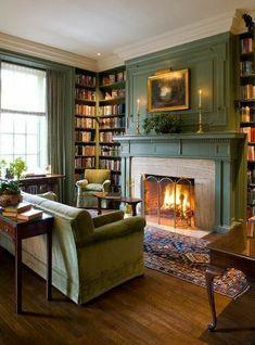 Cozy Living Rooms, Home Living Room, Living Room Furniture, Living Room Decor, Living Spaces, Cozy Furniture, Fireplace Furniture, Office Furniture, Design Salon