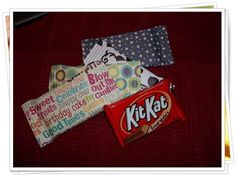 I'm not sure where to pin this!  Maybe I should just have a Cool Ideas spot!  But home-made candy wrappers sound neat to me!  I wonder where you buy a crimper...
