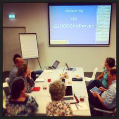 Samen het programma maken voor de #G1000Ehv... :-) #myview