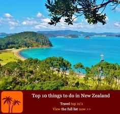 Top 10 things to do in New Zealand. New Zealand is one of the only islands in the world where you can go skiing in the morning and be topping up your tan on a beach in the afternoon. With a landscape that has inspired Hollywood blockbusters, artists, writers and poets alike, it is a country of stunning vistas, beautiful vineyards, hidden beaches, staunch cultural tradition and adventurous prospects