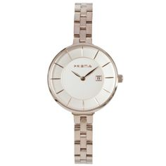 Dames horloge PRISMA PURIFY PLAIN ROSE GOLD Prisma ladies watch Details: Model – P.1527 Sexe – Lady Movement – VX82 met datum Case size – 30 mm Case thickness – 7 mm Band – 8 mm Water resist – 30 meter Material – All Stainless Steel