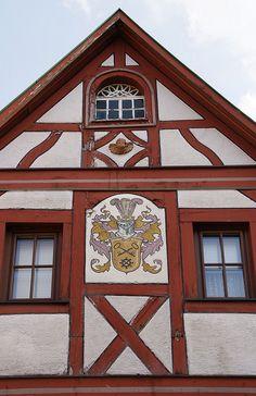 Nierstein, Marktplatz, ehemalige Thurn und Taxis Poststation (fomrer Thur and Taxis postal station) by HEN-Magonza, via Flickr
