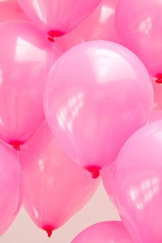 DIY Pink Balloon Heart