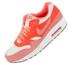 Nike Air Max 1 Vintage-Sail-Bright Mango-Total Crimson (Mai 2013) #sneakers #kicks