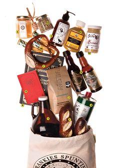 foodie gift bag