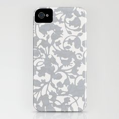 Earth_silver iPhone Case