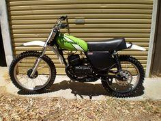 Vintage Dirt Bike motorcycles