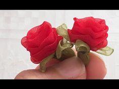 Organze Kurdele oyaları&BEŞLİ MENEKŞE ÇİÇEĞİ &Forex flower,health flower,holidayTaksim flower, - YouTube