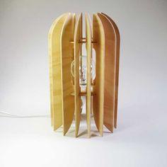 Kea Lamp Hoop Pine