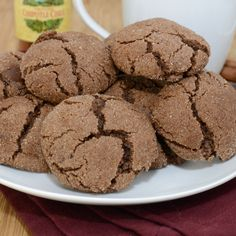 Mexican Hot Chocolate Cookies.  I want these.  Can somebody please make them for me?  What? I said please!