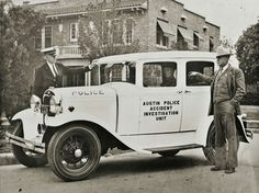 APD, Texas Officer Martin Luther Anderson (seated in car).  He was mentioned by name in the movie Bonnie and Clyde, when Faye Dunaway read a newspaper account of their escape from a police chase.