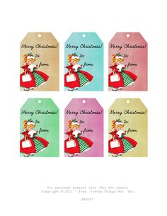 All sizes | Christmas tag freebies 2011 FPTFY | Flickr - Photo Sharing!