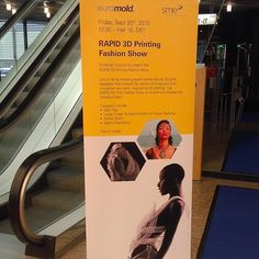 Here am I! Welcome to Euromold in Düsseldorf! The future of Fashion! I'm very happy to be here in RAPID 3D Printing Fashion Show!  #3dprinting #fashionshow #thefutureoffashion by aleravven