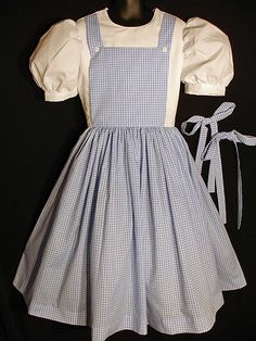 Women's Custom Dorothy Wizard of Oz Costume Dress by tickletrunk, $125.00