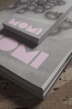 momi restaurant, business card and bill presenter — hstudio