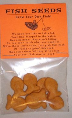 Gag Gift Fish Seeds Grow Your Own Fish Novelty Joke Gag Gift Prank Party Favor. $2.25, via Etsy.