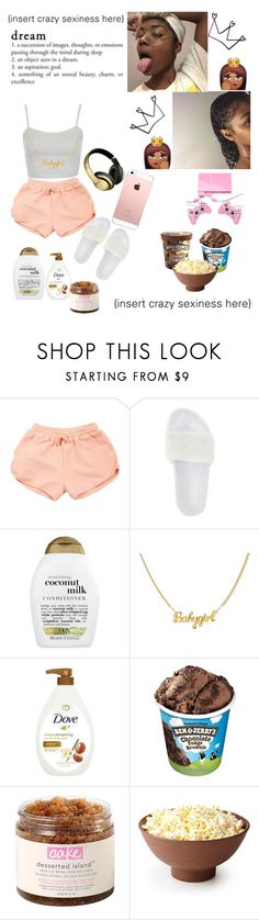 """""""Gts🌙"""" by fashionparadiseee ❤ liked on Polyvore featuring Topshop, Puma, Organix and Dove"""
