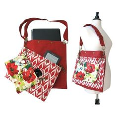 3 Section Tote - Floral - $139.00