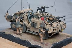 Carol Westerhoff has treated us to some fantastic images of the 1:48 Supacat Coyote!