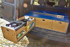 Multipurpose drawer for Opel Combo Kangoo Camper, Suv Camper, Camper Trailers, Vw T5, T5 Bus, Accessoires Camping Car, Berlingo Camper, Peugeot, Caravan Conversion