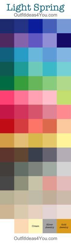Light Spring Color Palette