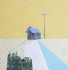 "Saatchi Art Artist Mairi Timoney; Collage, ""Afar"" #art"