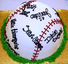 Baseball cakes | Baseball Party Cake Cake Ideas and Designs