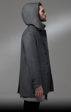 Coat with hood - Tonello Autumn/Winter 2013-14 MAN