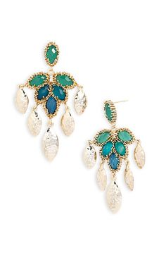 Kendra Scott 'Nora' Tiered Chandelier Statement Earrings available at Nordstrom