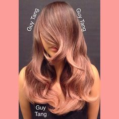 Delicate Rose Gold Color by Guy Tang