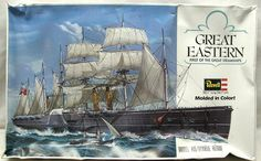 Vintage Revell Model Kits | ... Great Eastern - First of the Great Steamships, 5201 plastic model kit