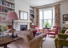 The List on the Top 100 Salvesen Graham Living Room Windows, Interior Design Living Room, Living Rooms, Design Bedroom, Interior Decorating, Snug Room, Pastel Interior, English Decor, Cottage Interiors