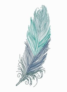 Grand Sewing Embroidery Designs At Home Ideas. Beauteous Finished Sewing Embroidery Designs At Home Ideas. Embroidery Designs, Local Embroidery, Types Of Embroidery, Machine Embroidery, Watercolor Feather, Feather Art, Feather Tattoos, Feather Design, Bird Tattoos