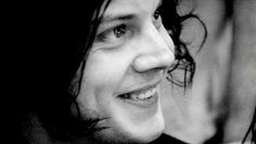 jack white. with a real smile!