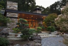 Ward-Young Architecture & Planning provides innovative design solutions for custom homes, remodels, hospitality and commercial uses. Cabin Design, Modern House Design, Residential Architecture, Architecture Design, Modern Mountain Home, Japanese Garden Design, Ranch Style Homes, Building Design, Building Plans